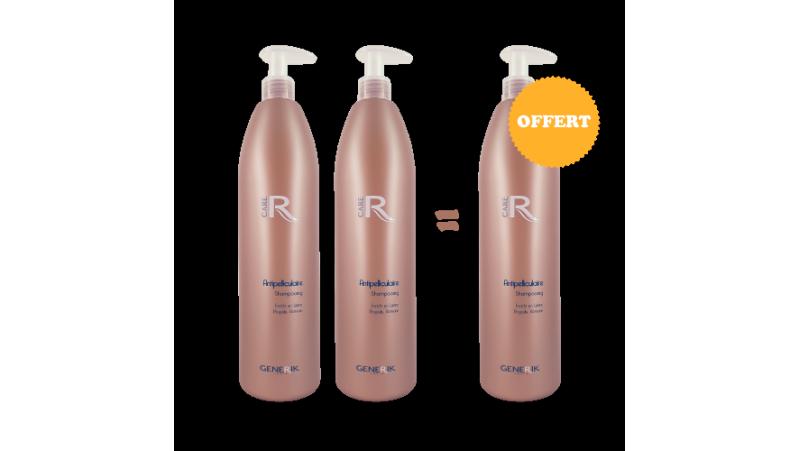 2 Shampooings antipelliculaire 1L achetés - 1 offert