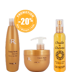 Pack : 1 Shampooing 300ml - 1 Masque 500ml - 1 Huile du cheveux 150ml