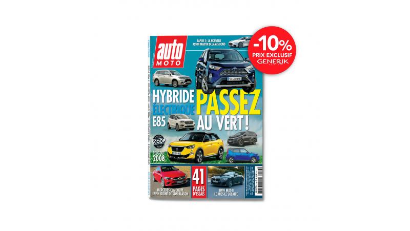 Magazine Auto Moto - Abonnement de 1 an - 10 n°
