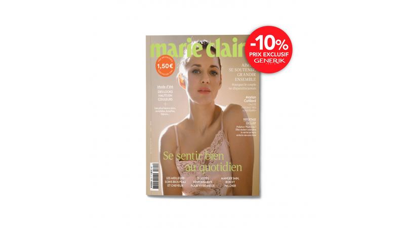 Magazine Marie Claire - Abonnement de 1 an - 12n°