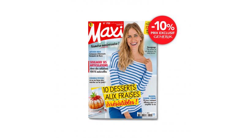 Magazine Maxi - Abonnement de 1 an - 52 n°