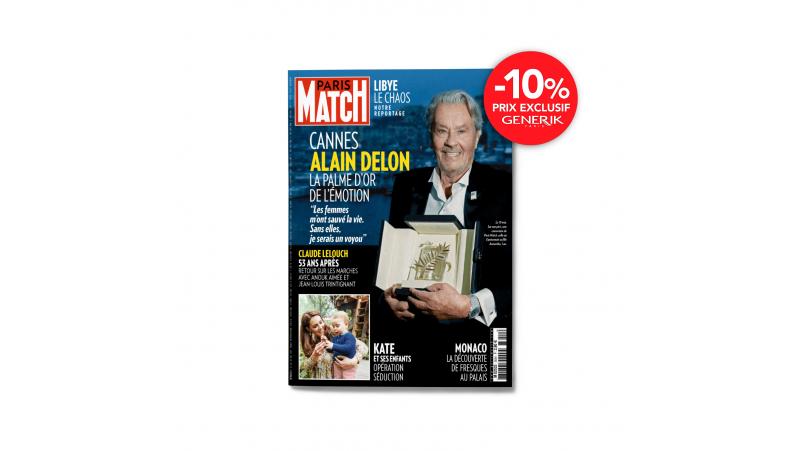 Magazine Paris Match - Abonnement de 1 an - 52 n°