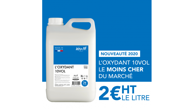 Oxydant Identik 3L 10 Volume