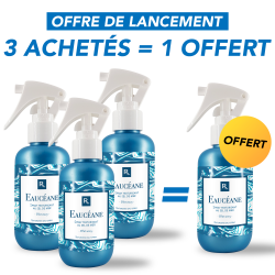 3 Sprays Texturisants au Sel de Mer 150ml +1 Offert