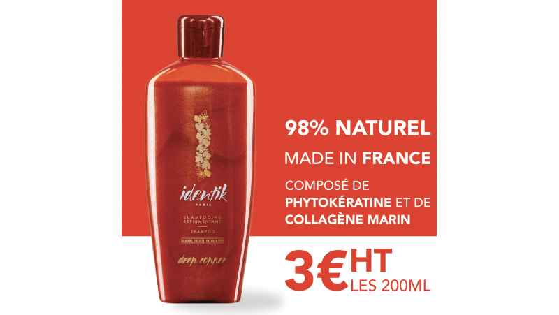 Identik Shampooing Repigmentant Deep Copper 200 ml