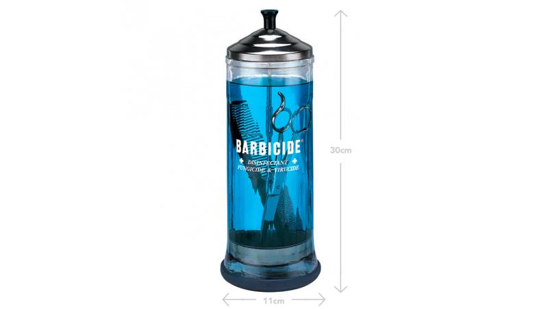 Contenant Barbicide 1100ml en verre