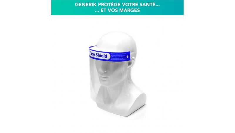 Visière de protection visage