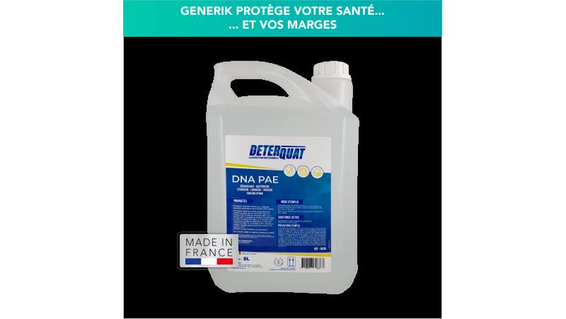 Bidon de 5L de spray désinfectant bactéricide fongicide virucide