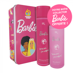 1 Coffret collector Barbie : 1 shampoing + 1 biphase