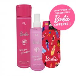 Duo de produits Barbie +1 paire de chaussette offerte
