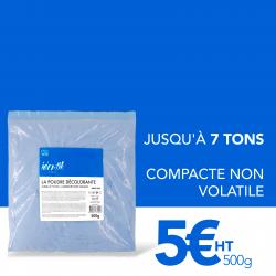 Sachet de poudre décolorante bleue Identik 500 gr