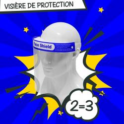 PROMO : Lot de 5 visières de protection