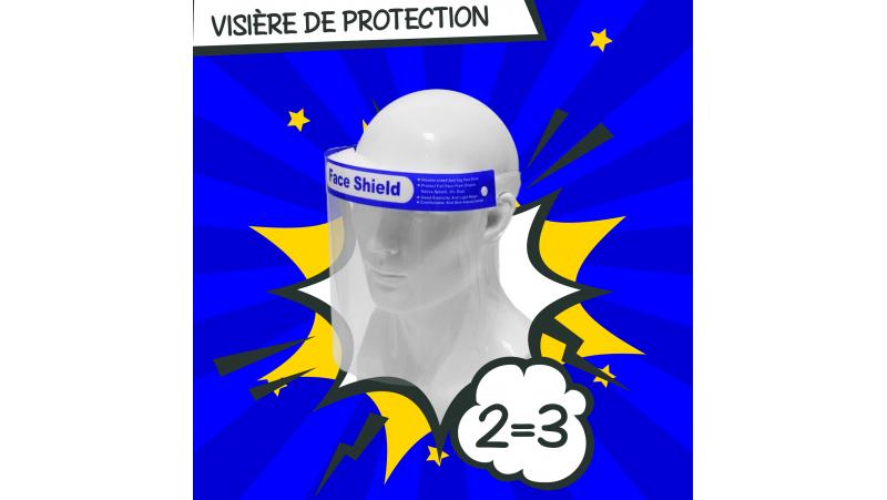 5 Visières de protection