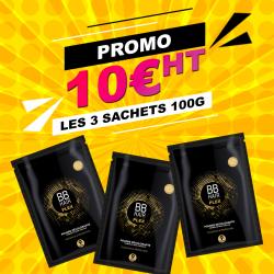 3 Poudres BBHair 100gr achetées - 1 poudre BBHair 100gr offerte