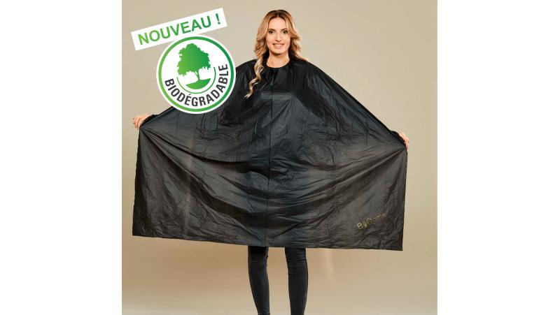 Capes noires biodégradables 140 x140 - lot de 50 -