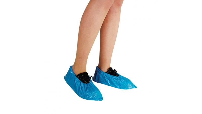 100 Protections de chaussures jetables taille unique