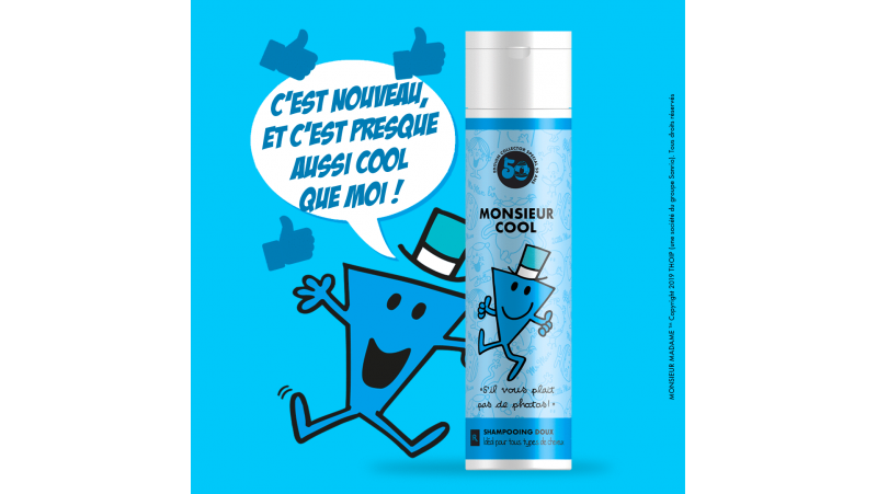 Shampoing Mr COOL COLLECTION MONSIEUR MADAME 250ml