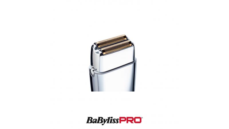 Shaver - Rasoir métal rechargeable double lame avec/sans fil BaByliss