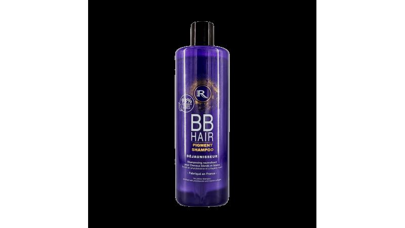 Shampoing BBhair neutralisant pour cheveux blonds et blancs