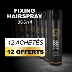12 BBHair Sprays laque de fixation 300ml achetées + 12 offertes