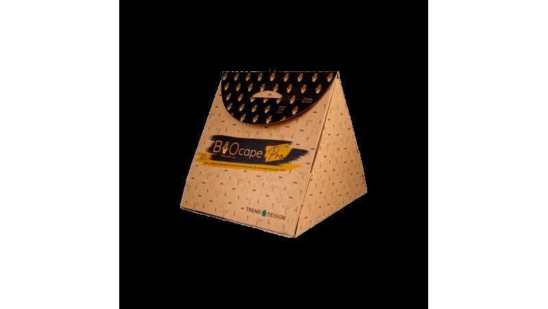 Capes noires biodégradables 140 x140 - Boîte de 33