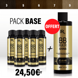 5 bases BBHair Shine - 3 - 5 - 6 - 7 - 9 + 1 CLEAR OFFERT