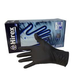 Gants latex noirs réutilisables